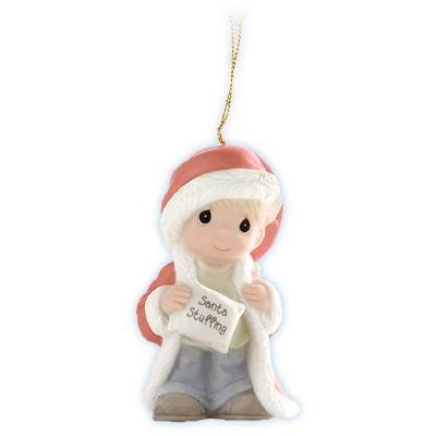 "Precious Moments ""Stuffed With Christmas Cheer"", Christmas Ornament"