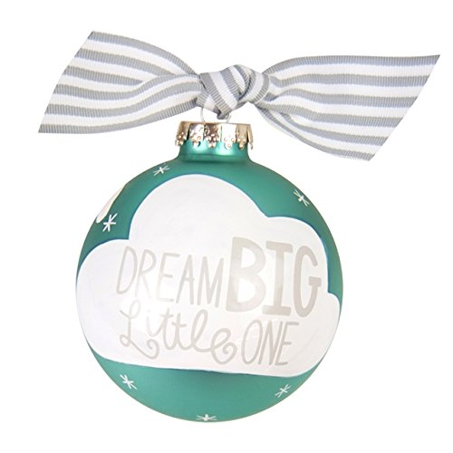 Coton Colors Dream Big Little One Glass Ornament