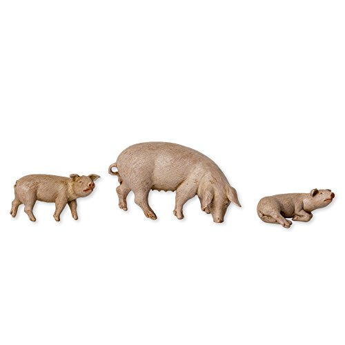 Fontanini Pig Family Animals Italian Nativity Villager Figurine Set of 3 54081