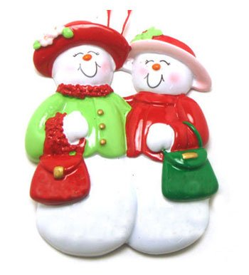 Snowlady Friends Ornament