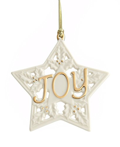 Lenox Christmas Ornament, 3.25″ Joy Star