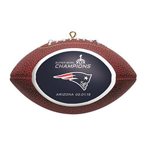 New England Patriots Replica Football Ornament