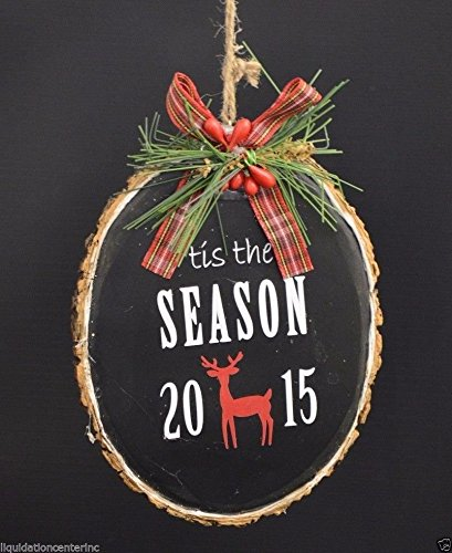 Holiday Lane 'tis the Season 2015 Ornament Christmas Decorative Holiday Tree 5″