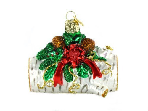 Old World Christmas Yule Log Ornament