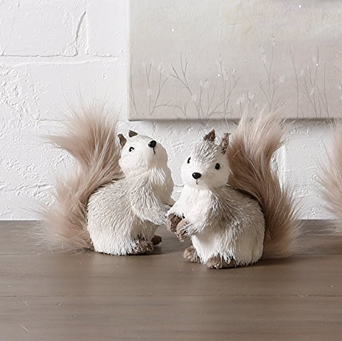 RAZ – Winter Wonderland 5″ Squirrels – set of 2