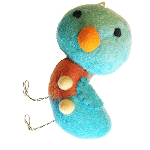 Springtime Cozies Wool Bluebird Ornament by Midwest-CBK