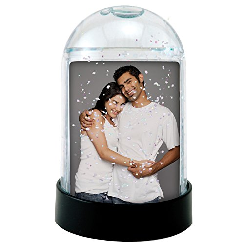 1.75″ x 2.75″ Clear Vertical Photo Snow Globe