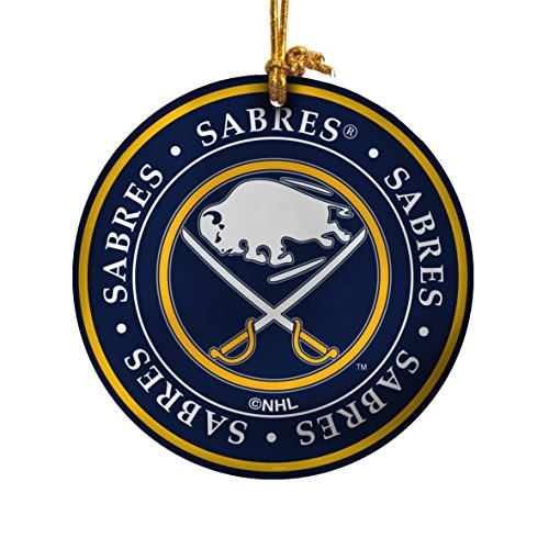 NHL Buffalo Sabres Ceramic Plate Ornament