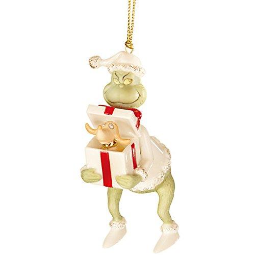 Lenox Grinch's Perfect Present Ornament
