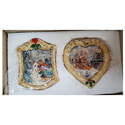 Danbury Mint M.J. Hummel Christmas Ornament Set