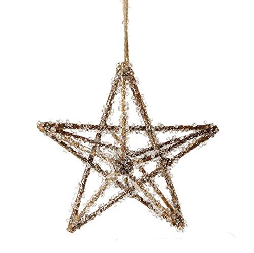 RAZ Imports – 7″ Iced Star Ornament