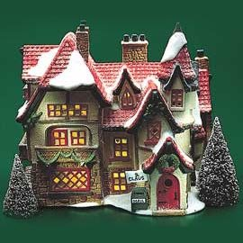 "DEPARTMENT 56/HERITAGE VILLAGE COLLECTION/NORTH POLE SERIES/""SANTAS WORSHOP"""