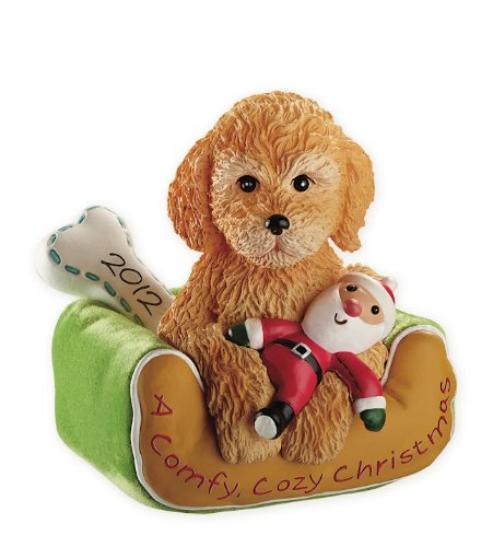 Puppy Love 2012 Carlton Heirloom Ornament