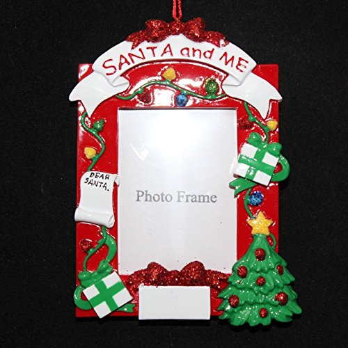 Personalized Photo Words Holiday Gift Expertly Handwritten Ornament