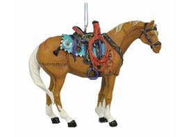 Trail of Painted Ponies Happy Trails Christmas Ornament New