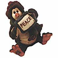 """Boyds """"Widdle Coldfin … Peace"""" Figurine"""