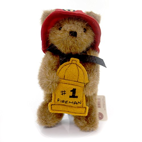 Boyds Bears Plush 1 FIREMAN ORNAMENT 562761 Fireman New