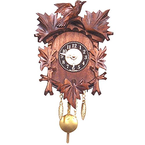 125-1Qp-Engstler Christmas Decor Battery-Operated Clock – Mini Size – 5″H X 4.25″W X 2.75″D