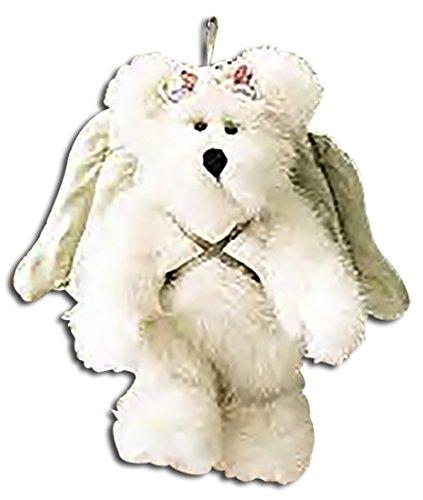 Boyds Bears Plush ADRIANA ANGELWISH Fabric Teddy Bear Ornament Wings 562330