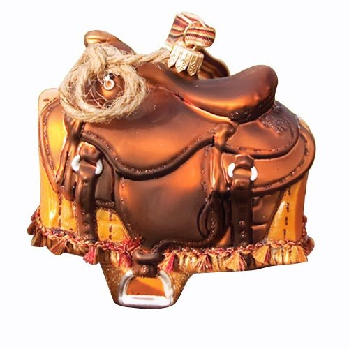 Ornaments to Remember: WESTERN SADDLE Christmas Ornament