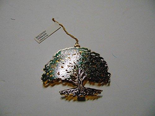 Baldwin LIBERTY TREE Christmas Ornament, Brass with 24k Gold Overlay