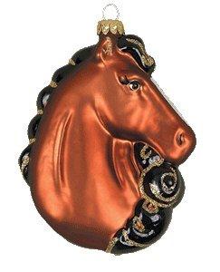 Cobane Studio LLC COBANED307 Majestic Beauty Chestnut Ornament