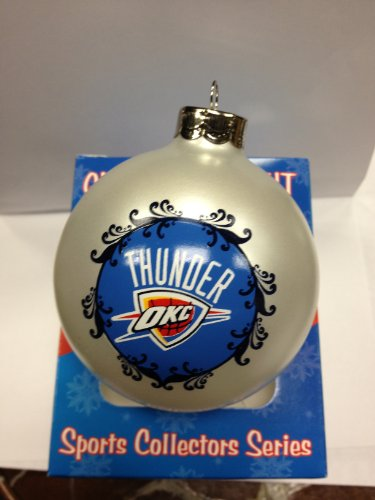 OKLAHOMA CITY THUNDER LARGE ORNAMENT