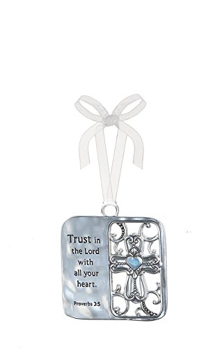 Ganz Inspirational Car Charms/Ornaments (Trust in the Lord)