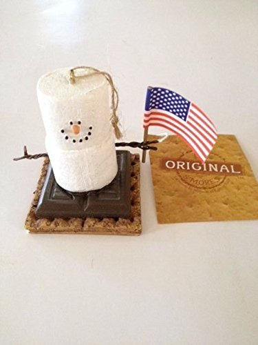 S'mores American Flag Figurine by Midwest