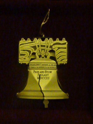 Baldwin Liberty Bell Brass Ornament