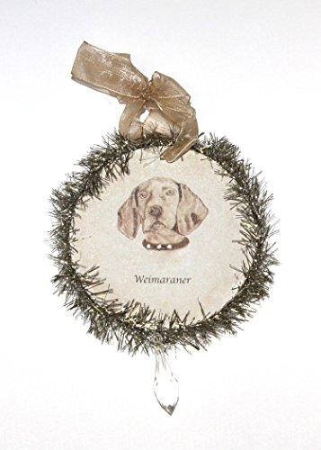 Rudolph & Me Dog Christmas Ornament – Weimeraner