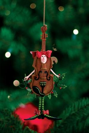 Patience Brewster Krinkles **Violin Ornament** 30364