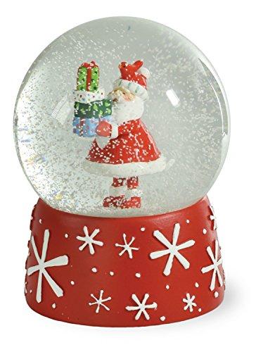 Boston International GAC16487 Gifty Santa SnowGlobe, Santa