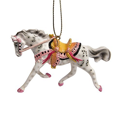 Enesco Trail of Painted Ponies Tickled Ornament, 2.25, Pink by Enesco