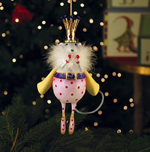 Patience Brewster Krinkles Mouse King Christmas Ornament from Nutcracker Ballet