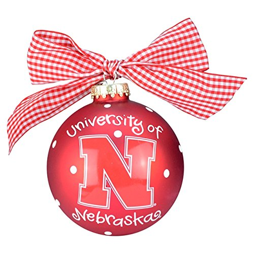 Nebraska Logo Ornament