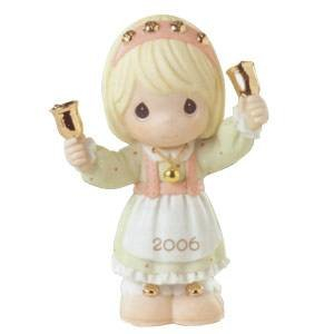 Ringing in the Season Dated 2006 Figurine