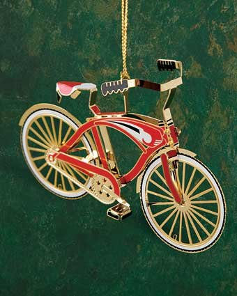 Baldwin Bicycle Ornament