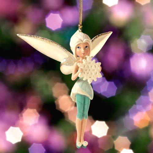 US Lenox Disney than (Lenox) made Disney Fairies's Periwinkle's Snowy Wish Ornament (Periwinkle Snow Wishes ornament)