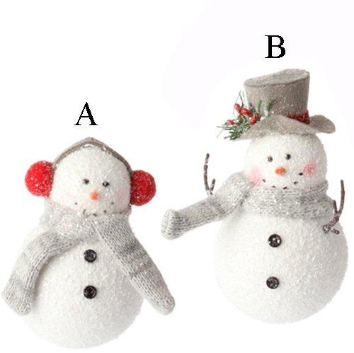 Raz Imports Snowman Ornaments