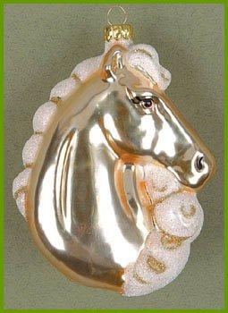 Cobane Studio LLC COBANED286 Majestic Beauty Palomino Ornament