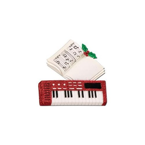 Keyboard Piano Music Personalized Ornament