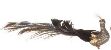 Mark Roberts Fancy Peacock Ornament 13.5″