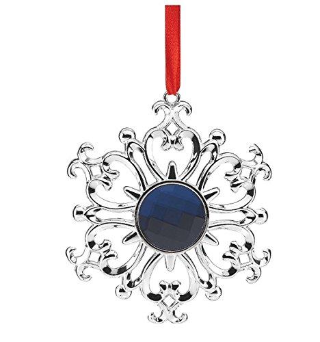 Lenox Gemmed Snowflake Ornament