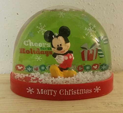 Mickey Mouse Merry Christmas Plastic Snowglobe Waterball