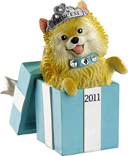 Carlton Heirloom 2011 Puppy Love #11 – Pomeranian Ornament #CXOR033Z
