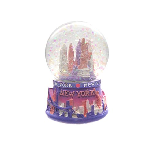 New York City Mini NY NYC Snow Globe Souvenir 2.5″ Collection by Favorict (Style A)