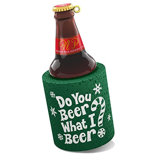 Hallmark 2016 Christmas Ornament Do You Beer What I Beer? Ornament by Hallmark Brand
