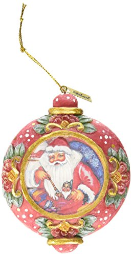G. Debrekht Nativity Workshop Scenic Ornament, 3.5″