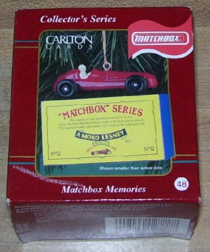Carlton Cards Heirloom Collection Matchbox Memories